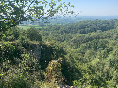 UK: Losing One's Self (or getting lost) in The Mendip Hills, Somerset County
