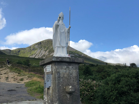 Co. Mayo, Ireland: Hiking and Sinning up Croagh Patrick on Reek Sunday