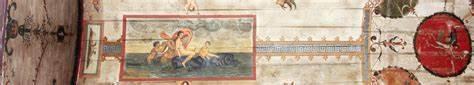 Ceiling fresco, Villa Forensina