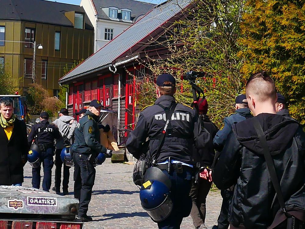 police bust in copenhagen