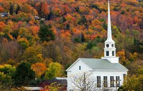 Autumnal Stowe Vermont