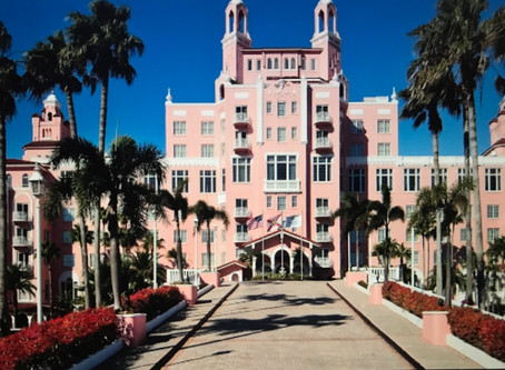 ST. PETERSBURG, FLORIDA; Fun, Sun and Fitzgerald at the Don CeSar