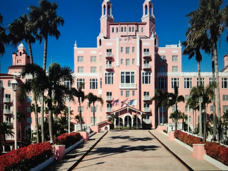 ST. PETERSBURG, FLORIDA; Fun, Sun and Fitzgerald at the Don CeSar