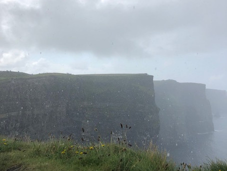 Ireland's Wild Atlantic Way: Rain, Cliffs & the Lucky Charms Leprechaun.
