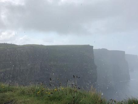 Ireland's Wild Atlantic Way: Rain, Cliffs & the Lucky Charms Leprechaun.