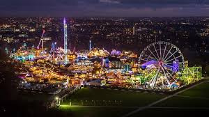 Winter Wonderland Fun Fair, Hyde Park, London