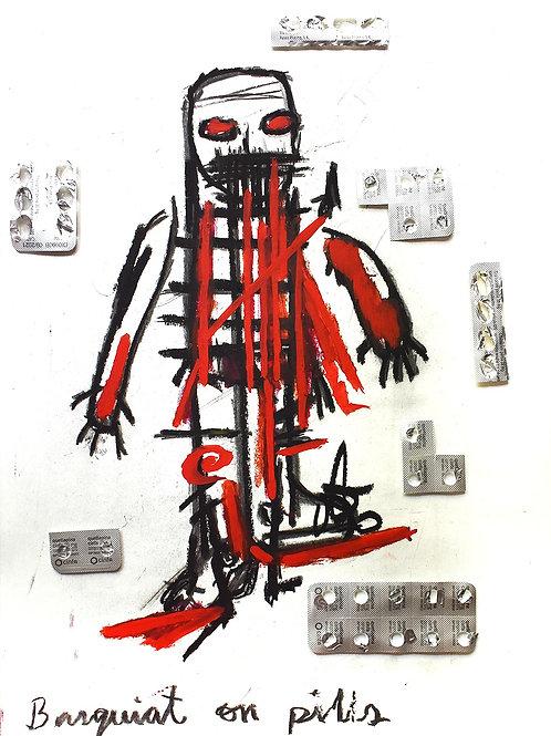 Basquiat on pills