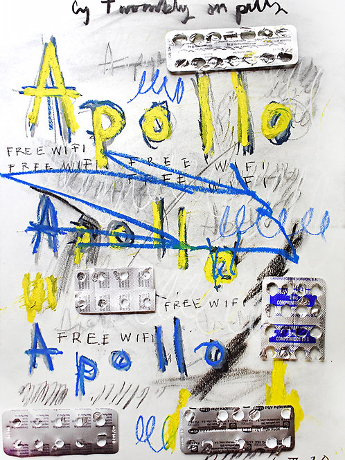 Cy Twombly on pills