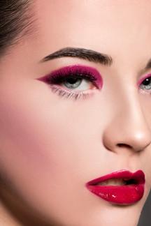 HMUA: Courtney McCormick Photography:  James Hurley Model:  Kim Oswald
