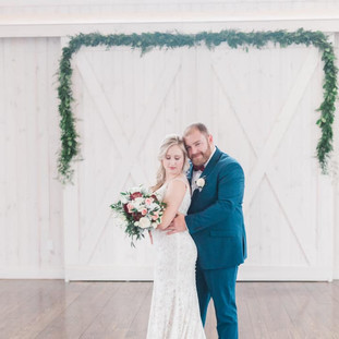 Makeup:  Courtney McCormick Hair:  Kristal Nester Wedding Planner:  Elevee & Co. Photography:  Manda Wever Venue:  Rosewood Farms Floral:  Forget Me Not Florist