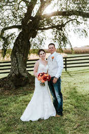 Makeup:  Courtney McCormick Hair:  The Brushing Bride - Dana Photography: Love To The Core Photography Dress: Stella York Jewelry - Vera Wang Planner & Designer: Katie Price Events & Design Venue: Huntingfields Farm
