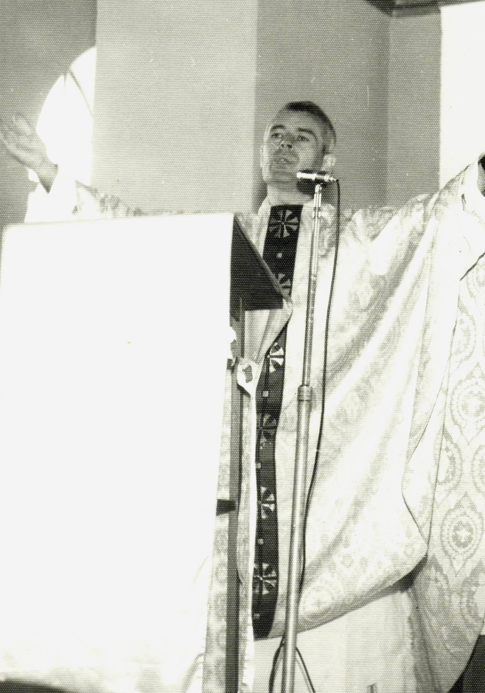 Padre Luis em Limoeiro 1975