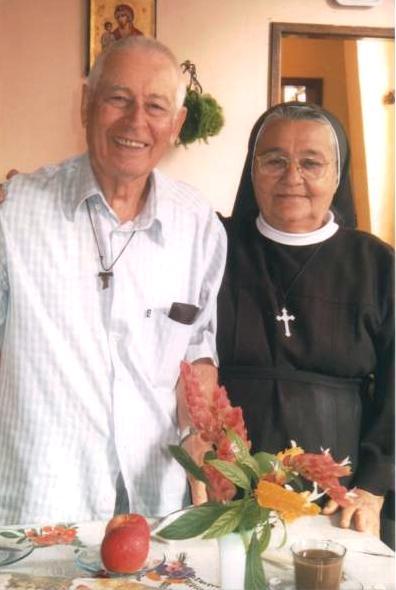 Padre Luis e Irmã Marta Melo
