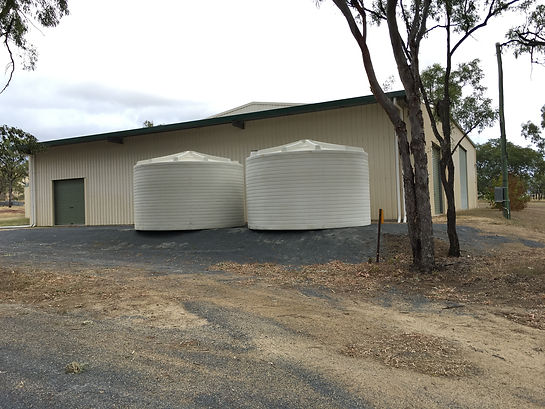 New tanks have been delivered to the Bouldercombe Recreation Complex