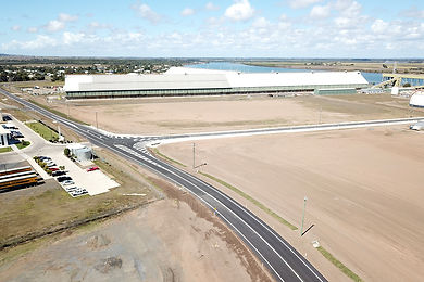 Buss and Newmans Streets works are now completed. Image supplied by Bundaberg Regional Council.
