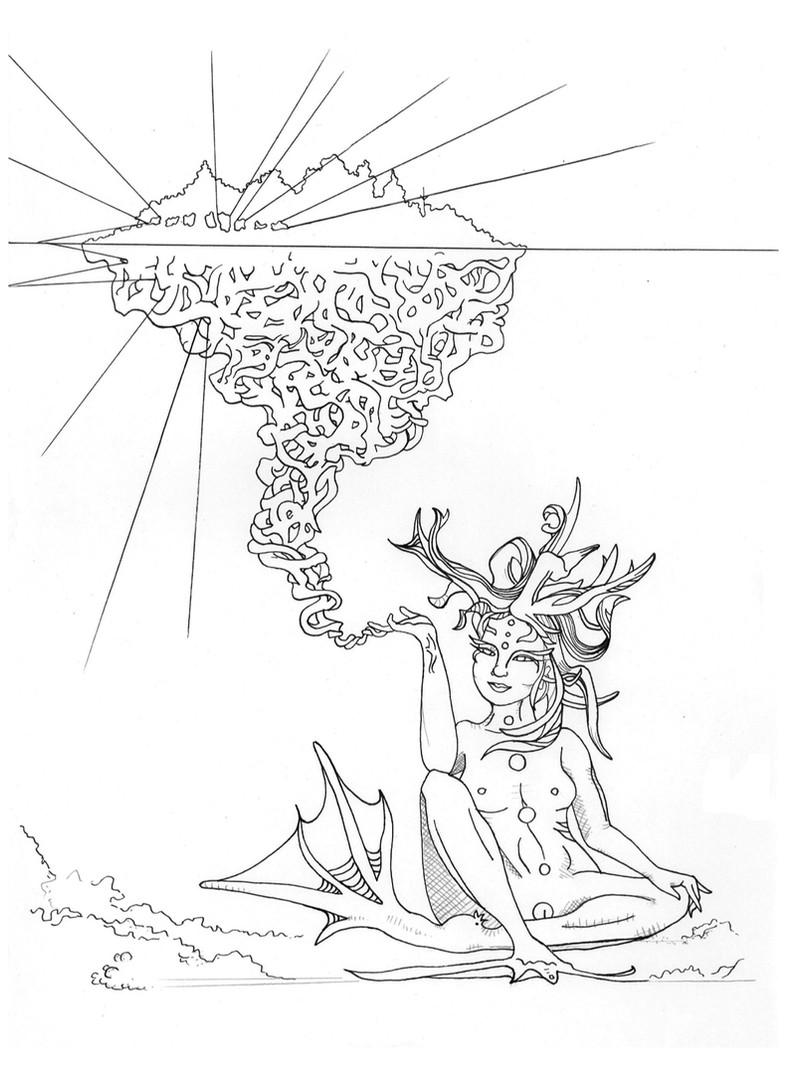 'Underwater Creatress'