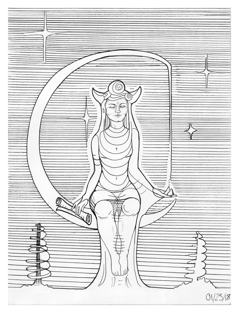 'High Priestess'
