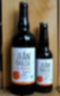 ginger ale beer jean brasse organic craft brewery