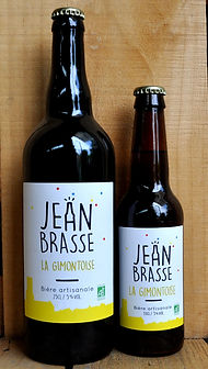 la gimontoise pale ale jean brasse organic craft brewery south of france