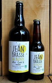 biere blonde-jean brasse brasserie artisanale biologique du gers