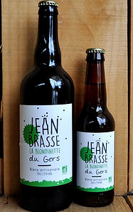 beer pale ale jean brasse organic craft brewery