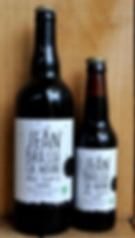 black ale jean brasse beer organic craft brewery