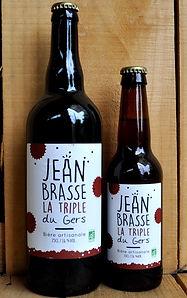biere la blondinette-jean brasse brasserie artisanale biologique du gers
