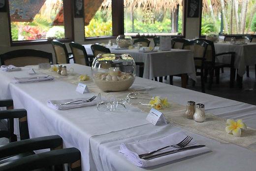 The Restaurant, Kikau Hut, Rarotonga