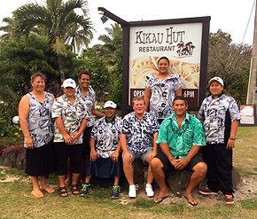Kikau Hut, Our Team, Raratonga