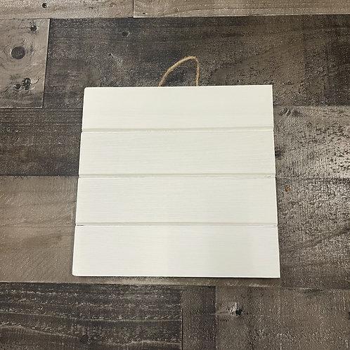 Custom 10x10 Wood Plank Sign