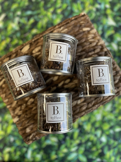 B. Toffee 3oz Signature Canisters - Milk Chocolate
