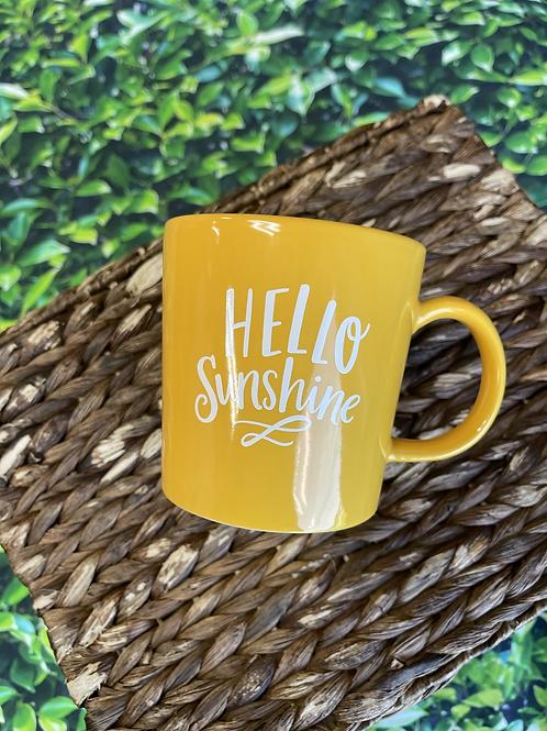 14oz Hello Sunshine Mug | Pen & Paint
