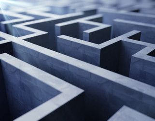 blue labyrinth, complex problem solving