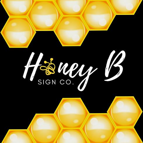 Honey B honeycomb logo.png