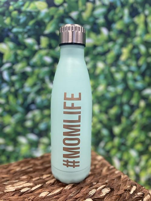 Pearhead #Momlife Stainless Steel Water Bottle