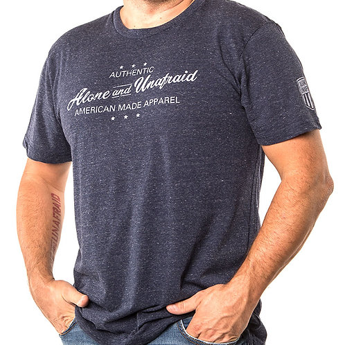 Authentic Wear Men's Tri-Blend Crew Tee