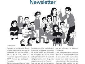Parution de notre dernière newsletter !