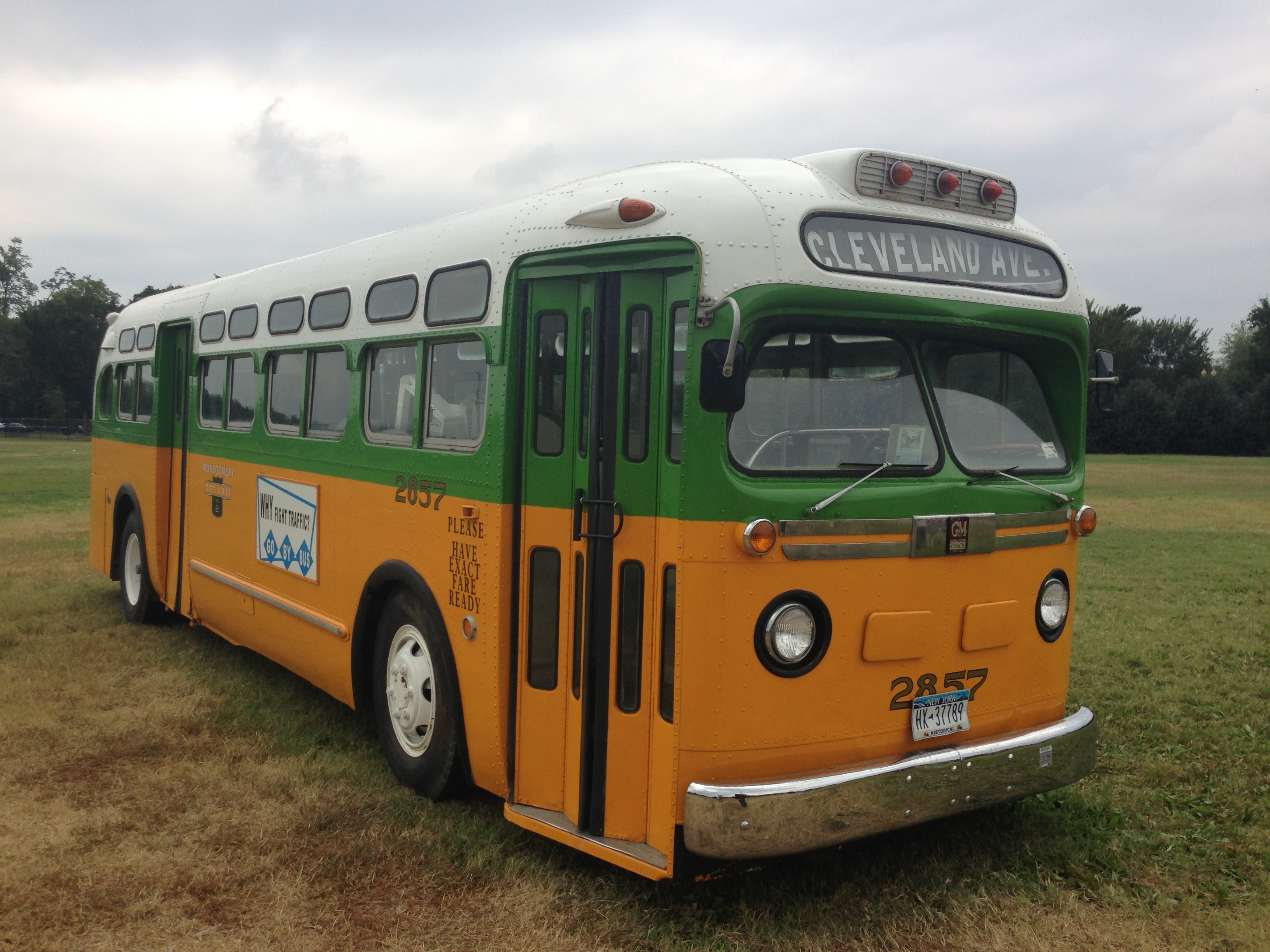 Rosa Park's Bus, March on Washington