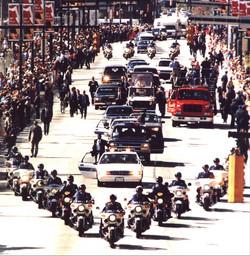 John Paul II Motorcade and Parade