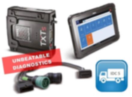 TEXA Axone Nemo truck diagnostic tool