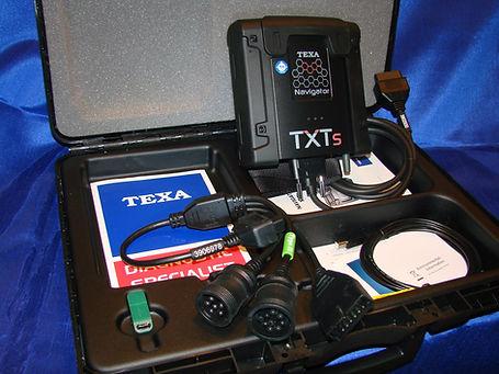 TEXA Navigator TXTs Truck Diagnostics