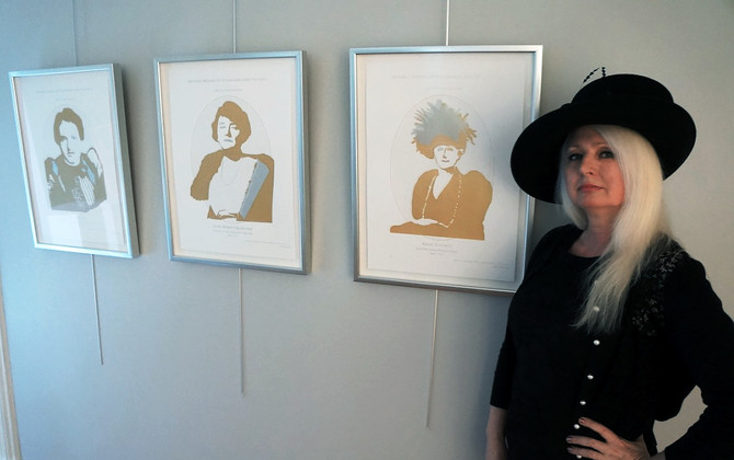 Allegheny West Artist Pays Tribute to Notable Women of Pittsburgh and Vicinity