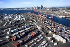 ニューヨーク海の港