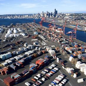 เมืองท่าการขนส่งทางเรือทางการค้าในสหรัฐอเมริกา