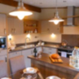 Pemberton Rivendale Luxury Lodge Modern Kitchen