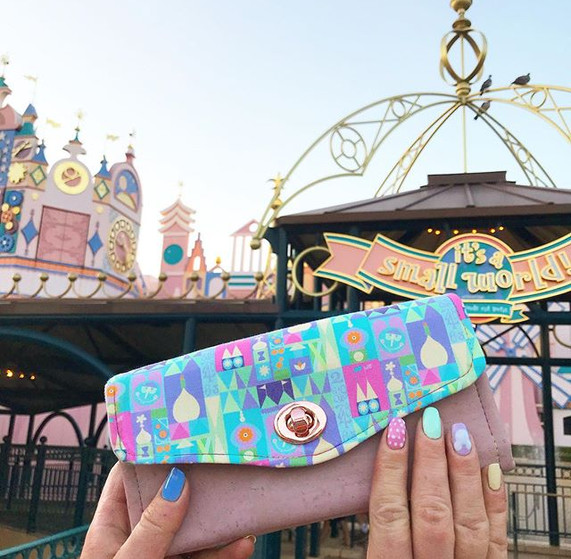 When your purse matches the rides. All t