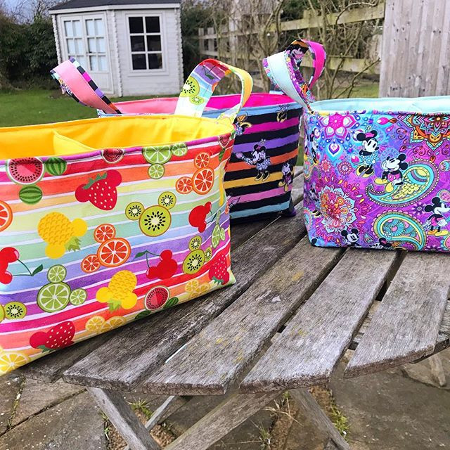 Three new baskets made and ready to go t