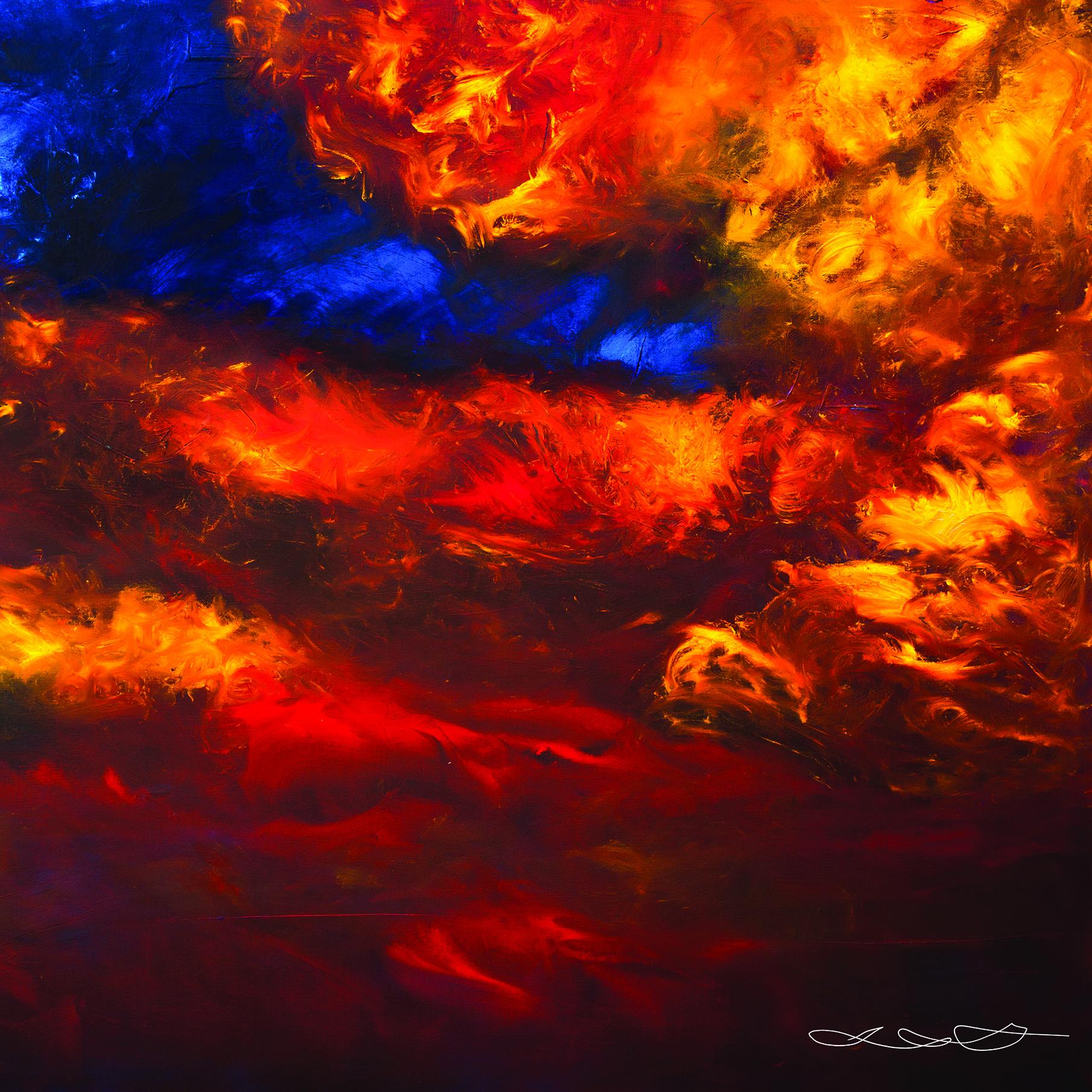 """Tango"" by Tal Silk Scarf"