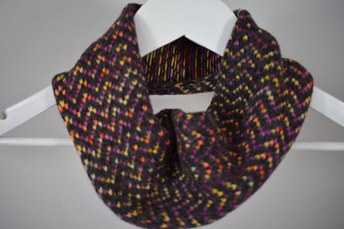 Hand Dyed Merino and Lambswool Cowl