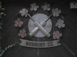 Bosbury Cricket Club Sign